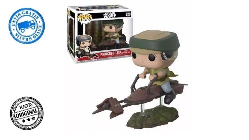 Funko Pop - Star Wars Princesa Leia With Speeder Bike (1)