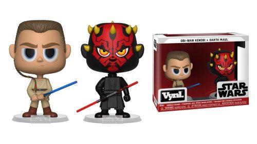 Funko Pop Vynl - Star Wars Obi Wan Kenobi + Darth Maul (1)