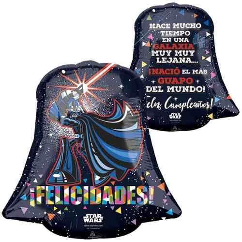 Globo Star Wars 22 Pulgadas Helio Mod 008
