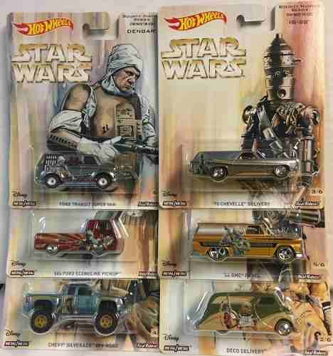 Hot Wheels 1/64 Pop Culture  Star Wars Serie