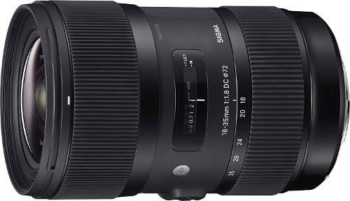 Lente Sigma mm F/1.8 Hsm Para Nikon