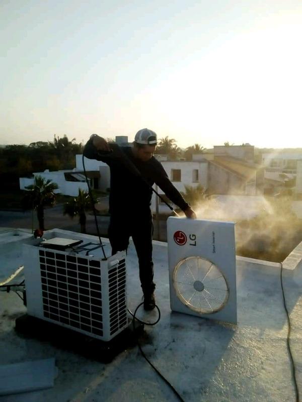 Limpieza y Mantenimiento de Minisplit y Climas. Reparaciones