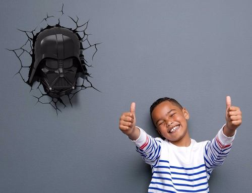 Lámpara 3d Star Wars Darth Vader The Force Awakens
