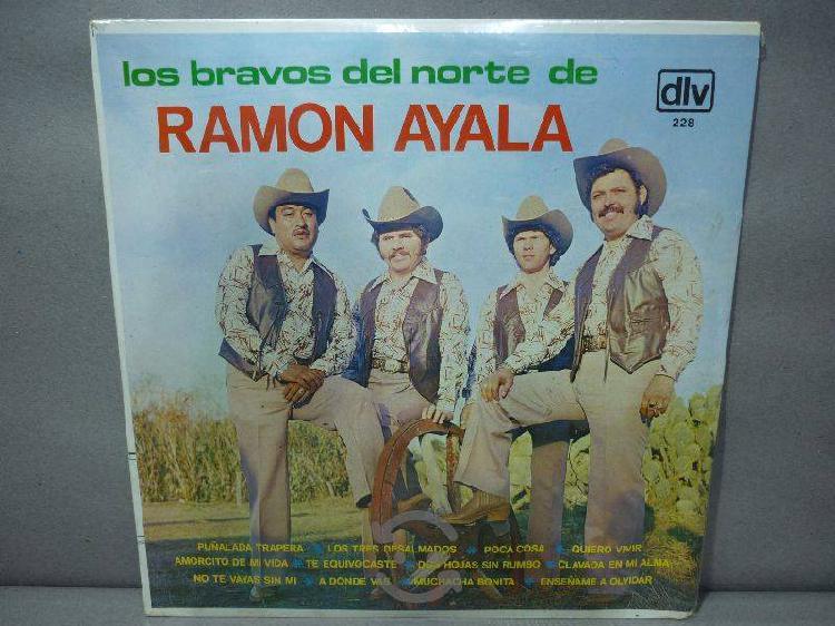 Los Bravos Del Norte De Ramon Ayala Acetato Nuevo