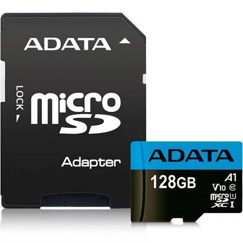 Memoria Micro Sd 128gb Adata V10 Clase 10 A1 Juegos Full Hd