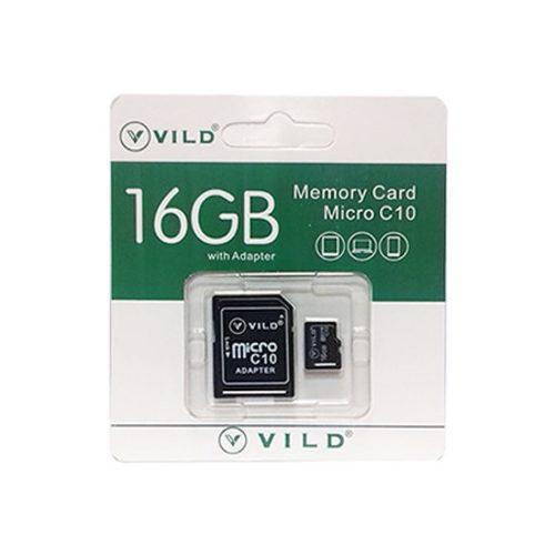 Memoria Micro Sd 16gb Vild Clase 10 Con Adaptador