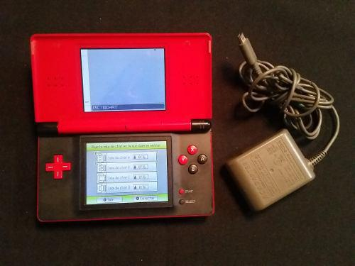 Nintendo Ds Lite Rojo Super Mario - Con Detalle