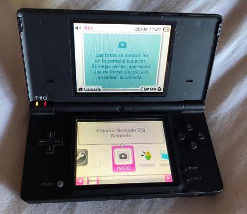 Nintendo Dsi Negro Con Estuche, Eliminador Y Cargador Coche