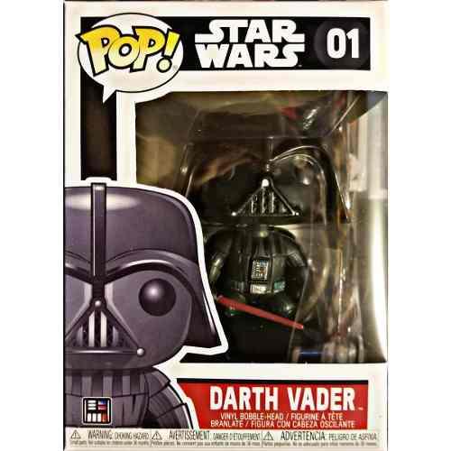 Nuevo Funko Pop Star Wars Darth Vader Clasico Con Sable
