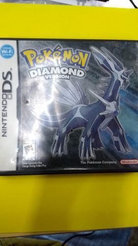 Pokemon Version Diamond.nintendo Ds.ds Lite.dslite Xl.3ds.