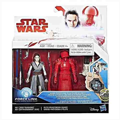 Rey Jedi Star Wars Force Link Elite Praetorian Muñeca