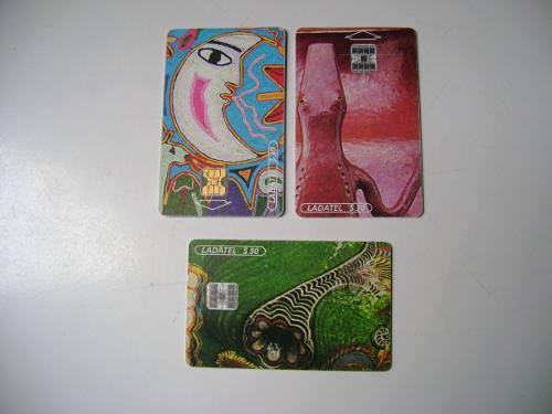 Riquezas Mexicanas 3 Tarjetas Telefonicas