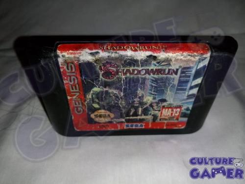 Shadowrun Shadow Run Original Para Tu Sega Genesis