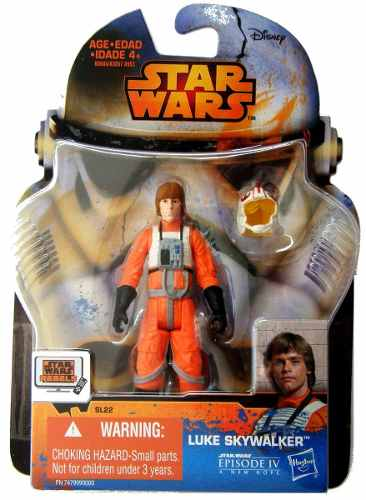Sl 22 Luke Skywalker X-wing Pilot Star Wars Rebels 3 3/4