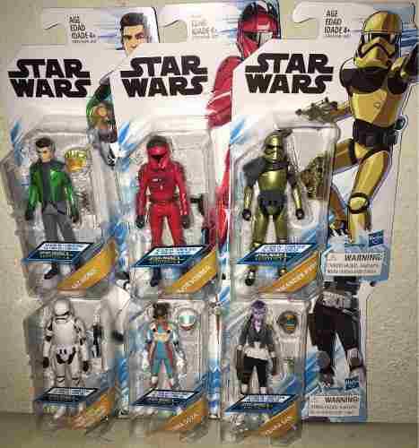 Star Wars 6 Figuras Resistance Animada Torra Doza