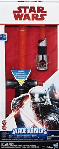Star Wars Blade Builders Kylo Ren Sable Sensor Luz Y Sonido