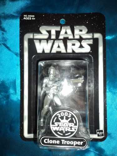 Star Wars Clone Trooper Edicion Plateada ! Envio Gratis !