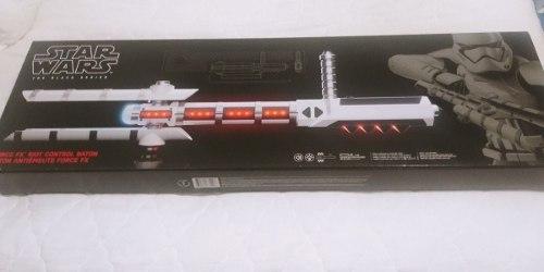 Star Warsblack Series Force Fx Z6 Riot Control Baton Lote 2