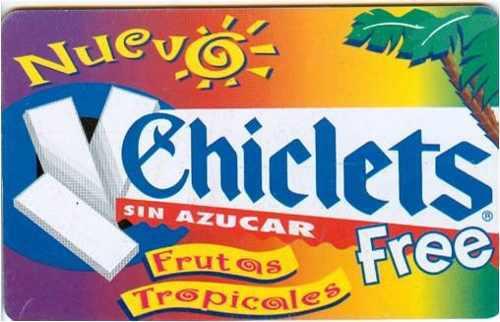 Tarj Argentina Chiclets