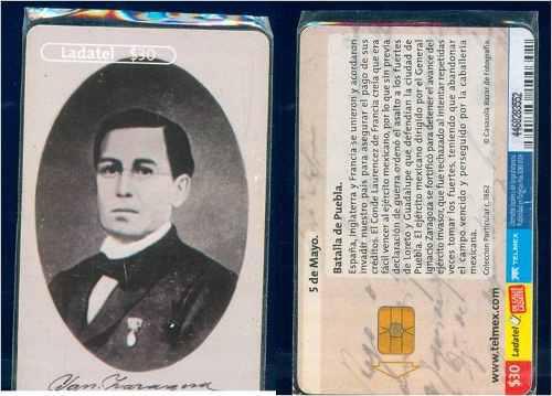 Tarj Batalla Del 5 De Mayo Puebla Ignacio Zaragoza