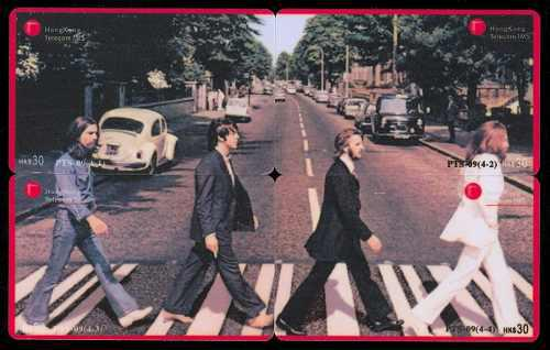 Tarj China Puzzle Beatles