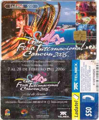Tarj Feria Internacional Cancun 2006