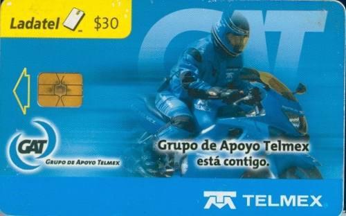 Tarj Gat Grupo De Apoyo T. Chip Gd3 Horizontal