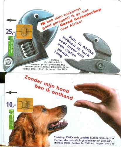 Tarj Holanda Tarjetas Telefonicas