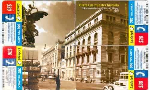 Tarj Puzzle El Banco De Mexico Y Correo Mayor