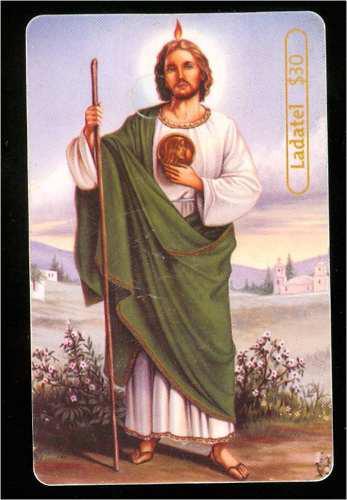 Tarj San Judas Tadeo
