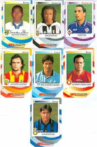 Tarj Serie De Futbol Italia 1