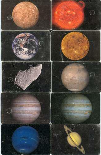 Tarj Serie Planetas.