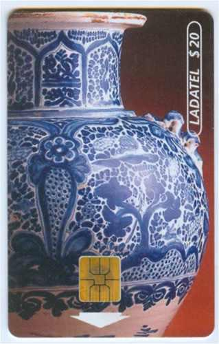 Tarj Serie Talavera Tarjeta 6 Con Chip Solaic