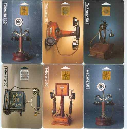 Tarj Telefonicas Francia Telefonos Antiguos