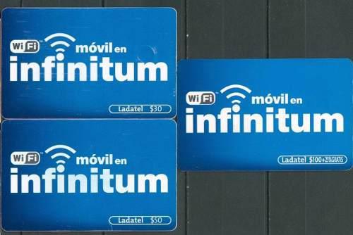 Tarj Wifi Movil En Infinitum 30, 50 Y 100