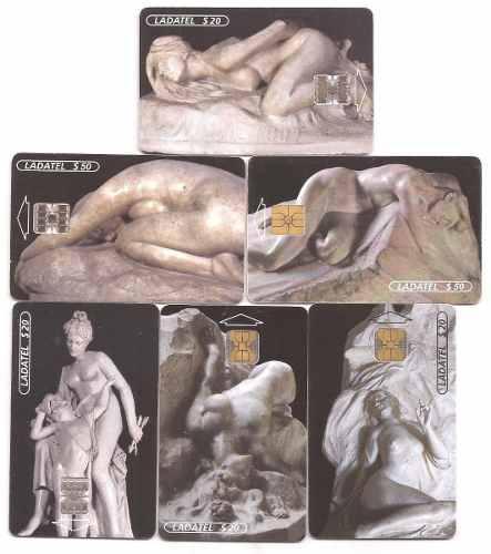 Tarjetas Telefónicas Serie Esculturas
