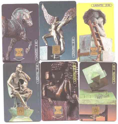 Tarjetas Telefónicas Serie Falsos Monumentos