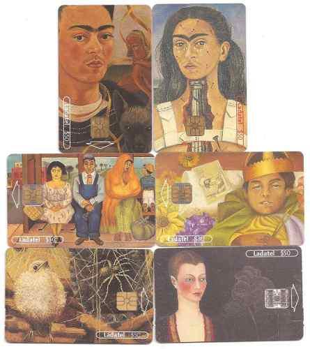 Tarjetas Telefónicas Serie Frida Kahlo