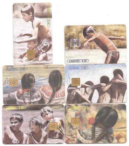 Tarjetas Telefónicas Serie Juego De Niños