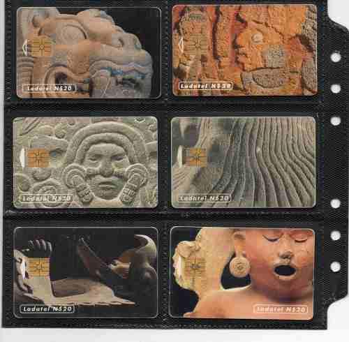 Tarjetas Telefonicas Serie Arte Prehispanico