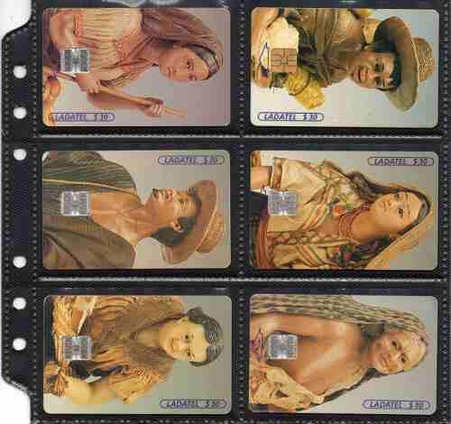 Tarjetas Telefonicas Serie Figuras De Cera