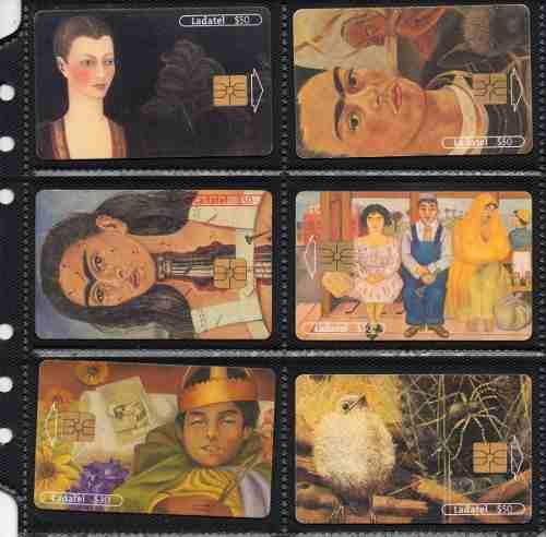 Tarjetas Telefonicas Serie Frida Kahlo