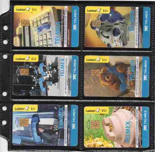 Tarjetas Telefonicas Serie Los Privilegios De Telmex