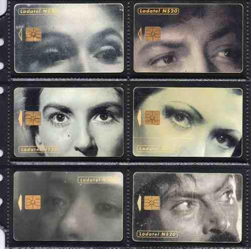 Tarjetas Telefonicas Serie Ojos En El Cine Mexicano