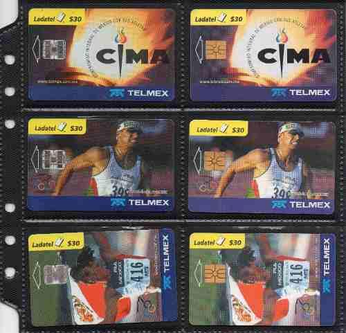 Tarjetas Telefonicas Serie Olimpiadas 2000 Cima