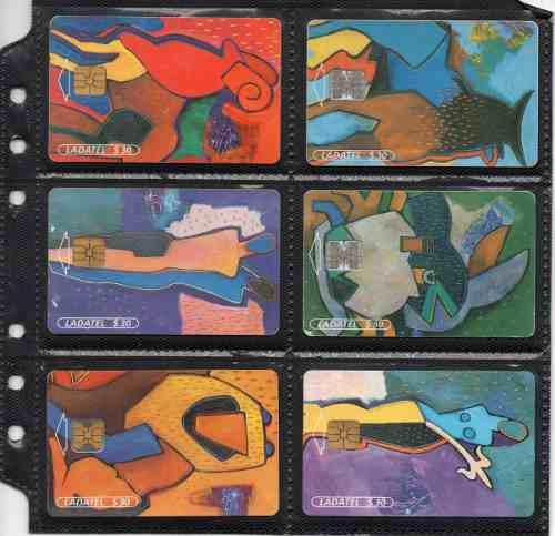 Tarjetas Telefonicas Serie Zodiaco
