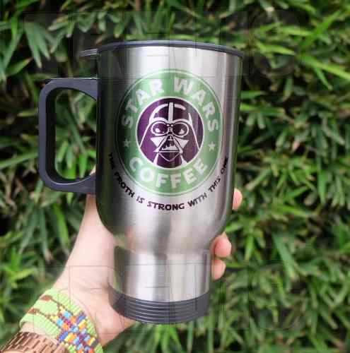 Termo Para Café Darth Vader / Star Wars / Starbucks
