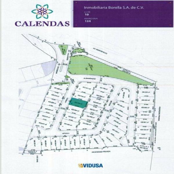 Terreno en Venta Calendas San Pedro Garza Garcia 1071