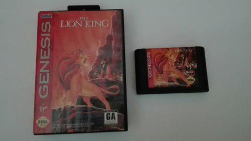 The Lion King Rey Leon Sega Genesis