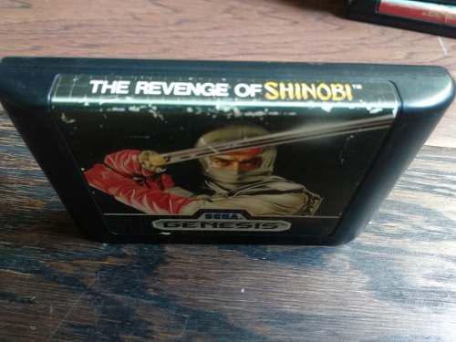 The Revenge Of Shinobi Segá Génesis